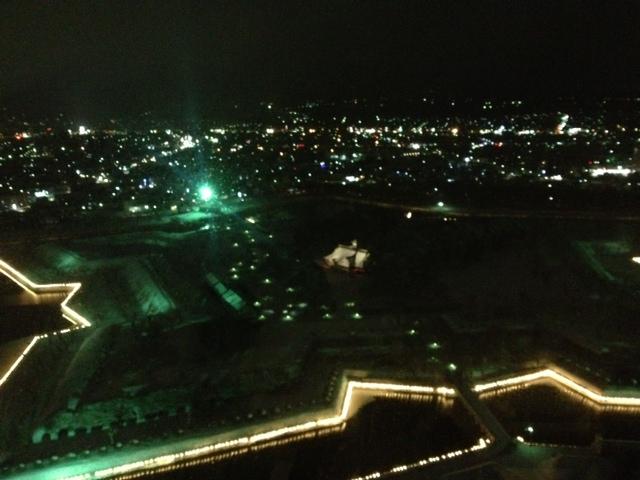 五稜郭タワー夜景